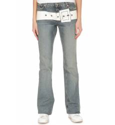 джинсы John Richmond Джинсы широкие