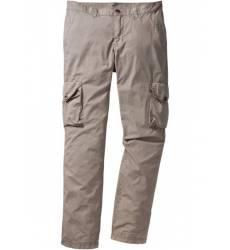 брюки bonprix Легкие брюки-карго Regular Fit Straight, низкий +