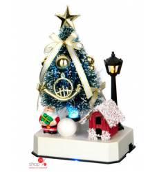 Украшение новогоднее ЕЛОЧКА С ПОДСВЕТКОЙ, 9,8*7,5*16,3 см Вераиль 42753620