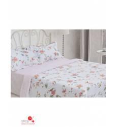 Комплект постельного белья, 2-спальный Этель, цвет белый 42753646