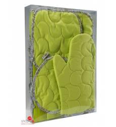 Набор кухонных принадлежностей Традиция Текстиля, цвет зеленый 42776262