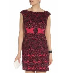 платье Oodji Прилегающее трикотажное платье