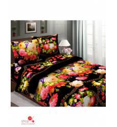 Комплект постельного белья, Евро Традиция Текстиля, цвет мультиколор 42817890