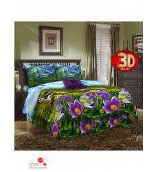 Комплект постельного белья, 1,5-спальный Традиция Текстиля, цвет фиолетовый 42818101