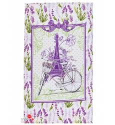 Полотенце Доляна Прованс, 35х60 см Доляна, цвет фиолетовый 42905479