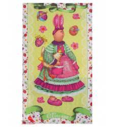Полотенце Доляна Пасхальный зайчик, 35х60 см Доляна, цвет мультиколор 42905480