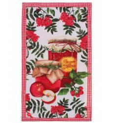 Полотенце Доляна Сделано с любовью, 35х60 см Доляна, цвет мультиколор 42905482