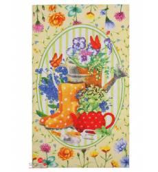 Полотенце Доляна Летний натюрморт, 35х60 см Доляна, цвет зеленый 42905486