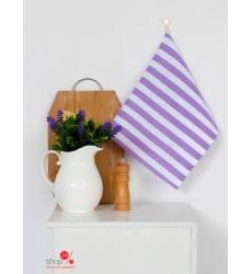 Полотенце Этель Сиреневая полоска, 35х65 ± 2 см Этель, цвет сиреневый 42905505