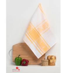 Полотенце кухонное Доляна Колокольчик, 50х70 см Доляна, цвет желтый 42905517