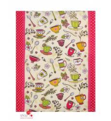 Полотенце кухонное Доляна Чаепитие, 47х62 ± 2 см Доляна, цвет розовый 42905518