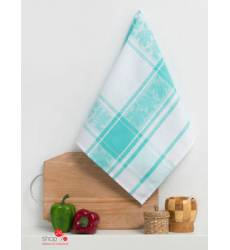 Полотенце кухонное Доляна Колокольчик, 50х70 см Доляна, цвет бирюзовый 42905519