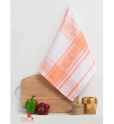 Полотенце кухонное Доляна Колокольчик, 50х70 см Доляна, цвет розовый, оранжевый 42905520