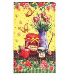 Полотенце кухонное Доляна Вишнёвое варенье, 35х62±2 см Доляна, цвет мультиколор 42905522