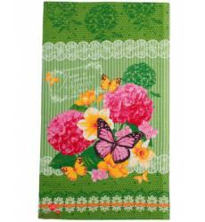 Полотенце вафельное Уют и тепло Вашего дома, 35х60 см Доляна, цвет зеленый 42905533