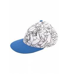 Бейсболка Button Blue Бейсболка