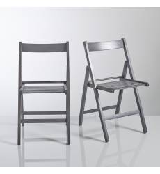 2 складных стула из массива бука Yann 42936915