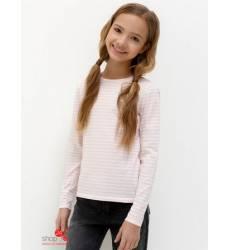 Лонгслив Acoola для девочки, цвет светло-розовый 42938606