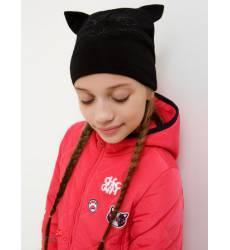 Шапка Acoola для девочки, цвет черный 42938611
