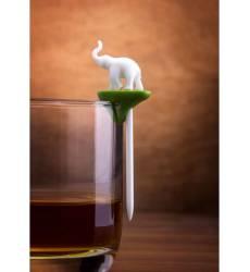 Qualy Набор шпажек-маркеров для бокалов Hot animal (6 шт