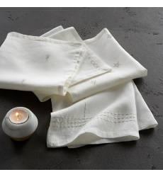 4 салфетки льняных с вышивкой Vanani 43000718
