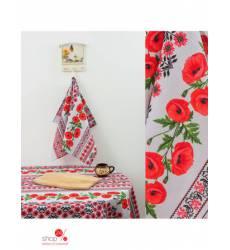 Полотенце Доляна Маки, 50*70 см Доляна, цвет мультиколор 43019256