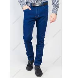 джинсы Time of Style Джинсы темные приталенные зимние