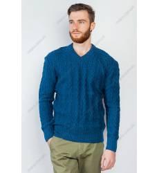 свитер Time of Style Свитер мужской v-образный вырез