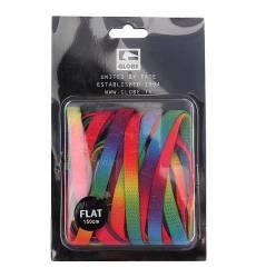 Шнурки Globe Rainbow Flat Lace Rainbow 43129266