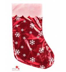 Носок для подарков Мерцание со снежинками, 19*38 см Joy 43140367