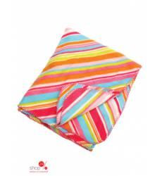 Плед флисовый 80х150 см Halens, цвет разноцветный, полоска 43151474