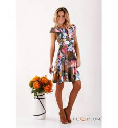 платье Zean Платье Хаки Цветное