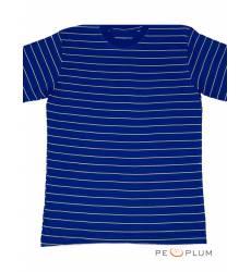 футболка Tillo Футболка в полоску Синяя с белым