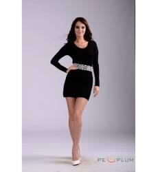 платье Fantosh Офисное платье Утонченное черное